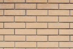 New brick wall. Textural background. Close-up Stock Photo