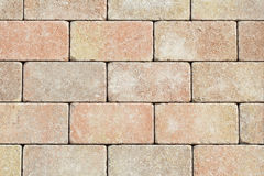 New brick wall texture background Stock Images