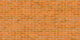 New brick wall texture. The perfect texture for a new brick wall. Made from light brown bricks and light yellow cement, forms a  seamless texture Stock Images