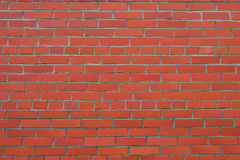New bricklaying. Classic building background Royalty Free Stock Photo