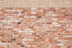 New Bricks On Old Brick Wall Stock Photography