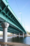 New bridge. Royalty Free Stock Images