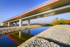New bridge Royalty Free Stock Images