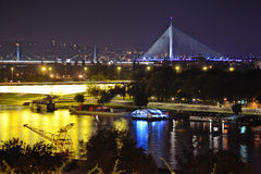 New Bridge Ada Stock Photography