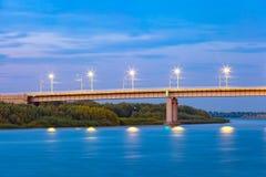 New Bridge, Astrakhan, Russia royalty free stock photos