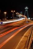 New Bridge in Bratislava Royalty Free Stock Images