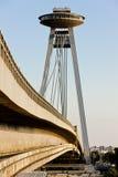 New Bridge, Bratislava. New Bridge in Bratislava, Slovakia Royalty Free Stock Images