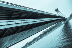 New Bridge in Bratislava Stock Photography