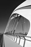 The new bridge. Bratislava. Slavakia Stock Photos