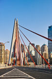 New bridge in Chongqing city stock photos