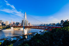 New bridge in Chongqing Stock Images