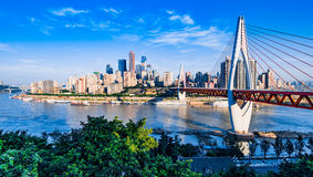 New bridge in Chongqing Royalty Free Stock Photo