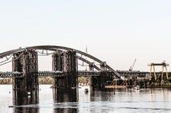 New bridge construction site industry Stock Photos
