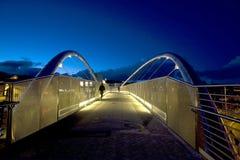 The new bridge at Holyhead Stock Photography
