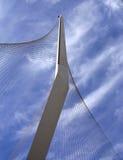 The new bridge in Jerusalem Stock Image