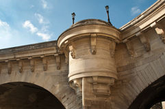 New bridge in Paris Royalty Free Stock Image