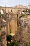 New bridge (Puente Nuevo) of Ronda in Spain Stock Photos