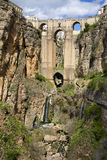 New Bridge in Ronda Royalty Free Stock Images