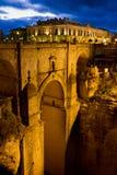 New Bridge in Ronda Stock Photos