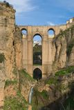 New bridge of Ronda Royalty Free Stock Photos