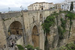 New Bridge in Ronda, Andalusia, Spain Royalty Free Stock Photo