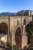 New bridge in Ronda Royalty Free Stock Photos