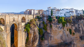 New bridge in Ronda Royalty Free Stock Photography