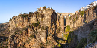 New bridge in Ronda Stock Image