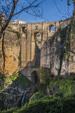 New bridge in Ronda Stock Images