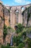 New Bridge in Ronda Stock Image