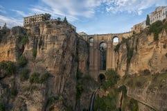 New Bridge in Ronda Stock Images