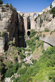 New Bridge in Ronda, Spain Stock Image