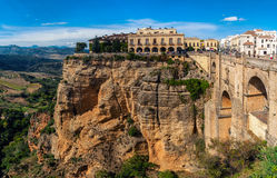 New bridge in Ronda, Spain Royalty Free Stock Photography