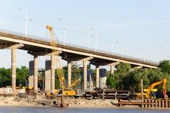 New bridge in Rostov Royalty Free Stock Image