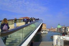 Modern bridge,Venice Stock Photography