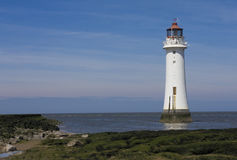 New brighton lighthouse Royalty Free Stock Images