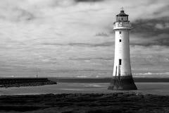 New Brighton Lighthouse Stock Image