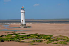 New Brighton Lighthouse, Merseyside, UK Stock Photos