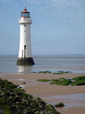 New Brighton Lighthouse. Wirral, Cheshire Stock Photos