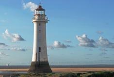 New Brighton Lighthouse Royalty Free Stock Photo