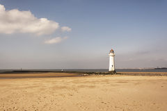 New Brighton Lighthouse Stock Photography