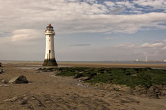New Brighton Perch Rock Lighthouse Stock Images