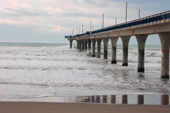 New Brighton Pier Royalty Free Stock Photography