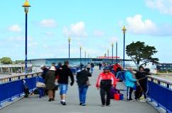New Brighton Pier Christchurch - New Zealand Stock Photos