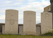 New British Cemetery in flanders fields great war Stock Images