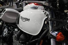 New british motorcycle Royalty Free Stock Photos