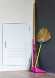New broom set Royalty Free Stock Images
