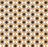 New brown pattern. Pattern design with geometric form and white-brown Royalty Free Stock Photo