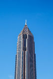 New Brown Skyscraper Under Blue Sky Royalty Free Stock Photography
