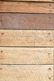 new brown wooden wall Royalty Free Stock Photo